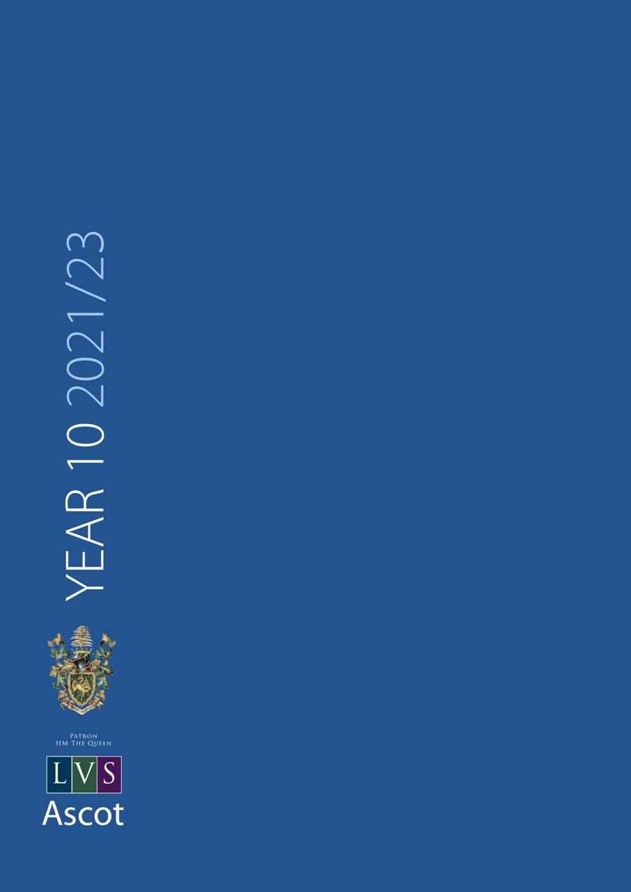 LVS Ascot GCSE Booklet 21-23