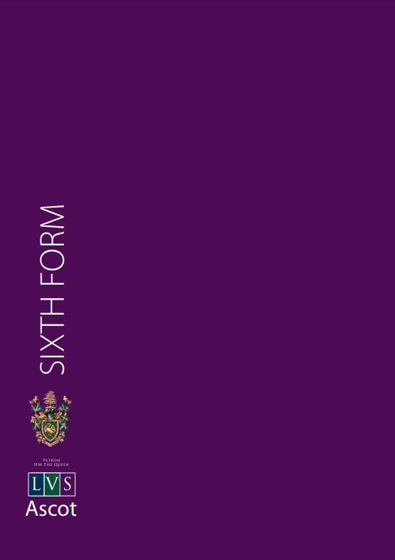 LVS Ascot sixth booklet