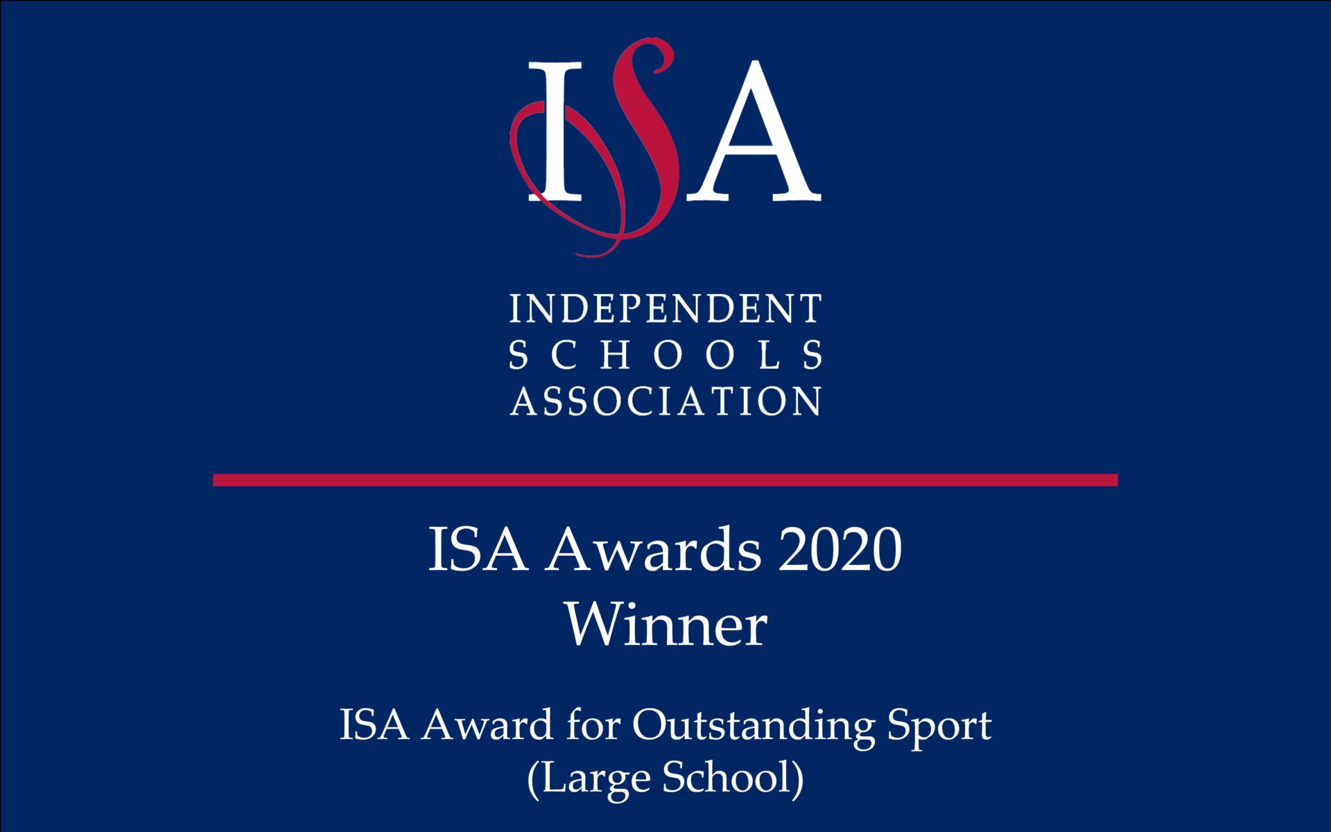 ISA Award winner badge